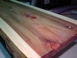<p>杉板の座卓です。移動が楽に出来るよう、比較的軽い杉板を使用しています。</p> <p>塗料は小さいお子さんが座卓を触っても、安全なものを使っています。<br />申し出がなくてもできる限り配慮いたします。激安の有害塗料は使いません。</p> <p>自然塗料は木の呼吸を妨げず、人間の身体にも安心です。</p>