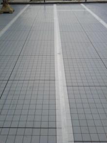 <p>一直線に施工できています。</p>