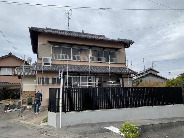 【羽島市(岐阜)のリフォーム】お客様配慮と近隣様配慮で土曜日は工事をやりません
